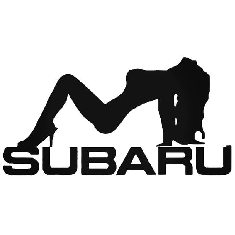 Subaru Girl Decal