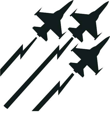 Airforce Jets Decal