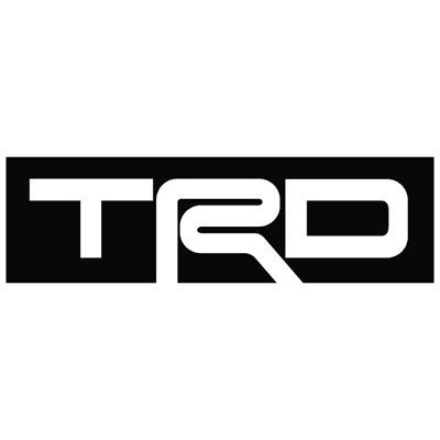 Toyota TRD Decal 2