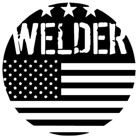 American Welder Decal