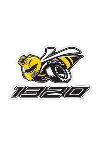 Dodge Angry Bee 1320 Printed Decal