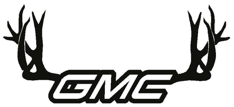 GMC Antlers Decal
