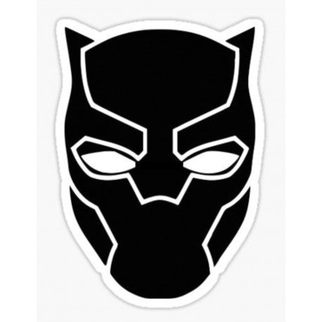 Black Panther Decal