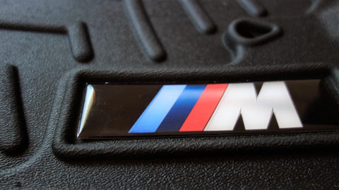 BMW M Weathertech Replacement Domed Badge