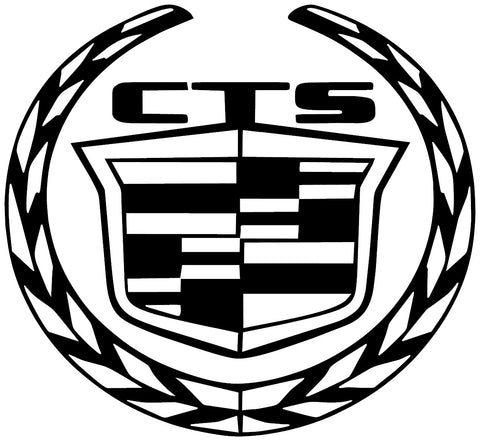 Cadillac CTS Logo Decal