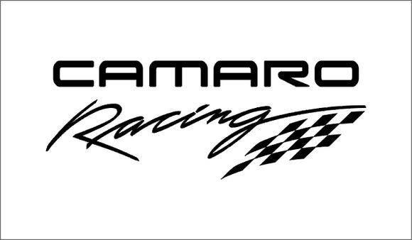 Camaro Racing Decal