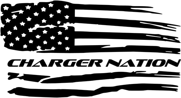 Charger Nation Decal