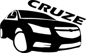 Chevy Cruze Silhouette Decal