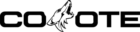 Ford Coyote Windshield Banner Style 2