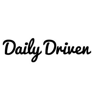 Daily Driven Decal