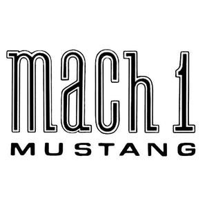 Mach 1 Decal