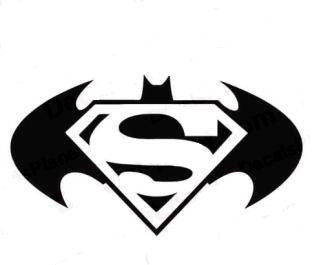 Superman Vs. Batman Decal