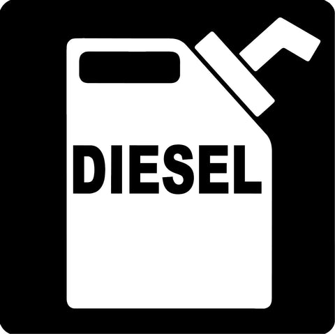 Diesel Can Decal