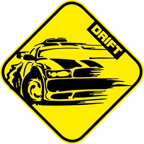 Drift Printed Decal