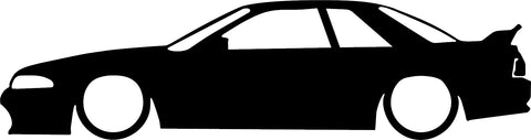 GTR Silhouette Decal