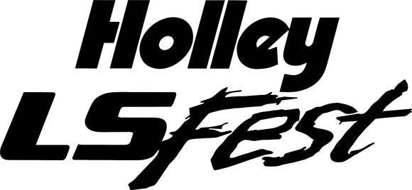 Holley LS Fest Decal
