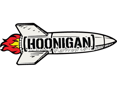 Hoonigan Rocket Printed Decal
