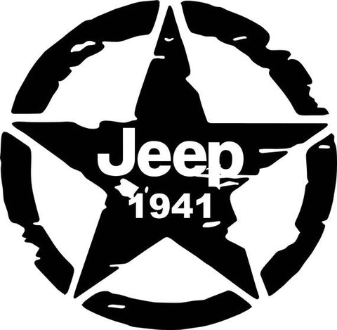 Jeep 1941 Decal