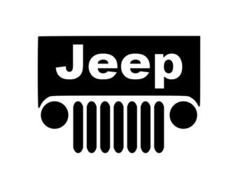 Jeep Grill Decal