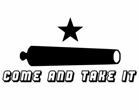 Come and Take It Decal