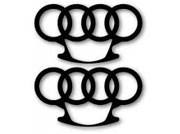 Audi Brass Knuckles Decal