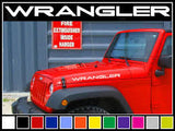 "22"" Jeep Wrangler Side Hood Decals (2)"