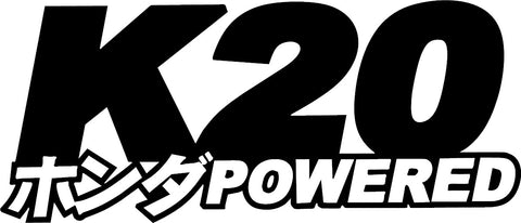 K20 Powered Decal
