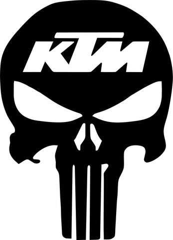 KTM Punisher Decal