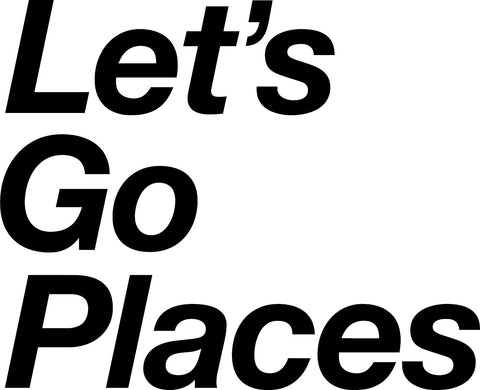 Let's Go Places Toyota Decal