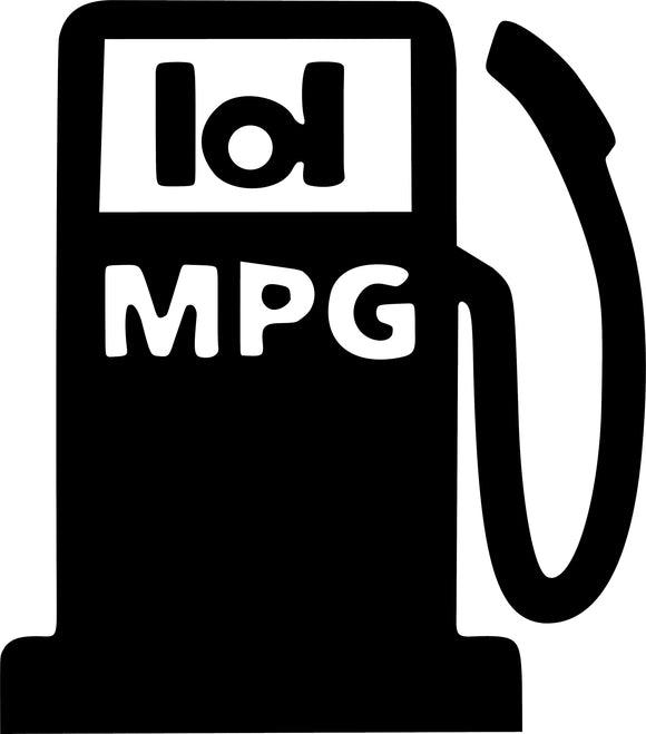 LOL MPG Decal