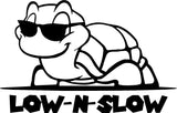 Low and Slow Turtle Decal