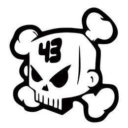 Ken Block Skull Decal