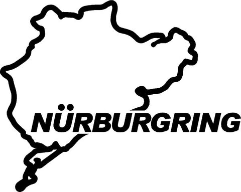 Nurburgring Track Decal