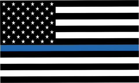Police Thin Blue Line Decal