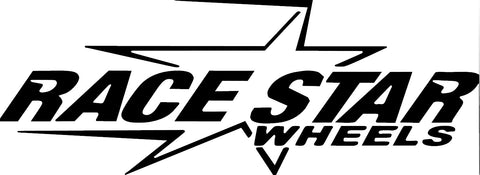 Race Star Wheels Decal