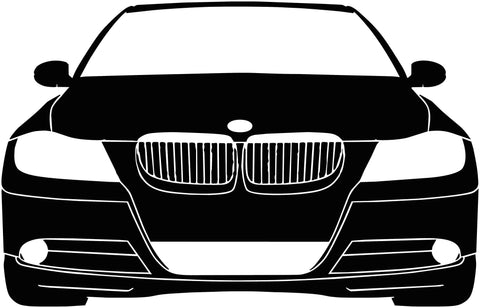 BMW E39 Silhouette Decal
