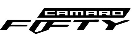 Chevy Camaro Fifty Decal