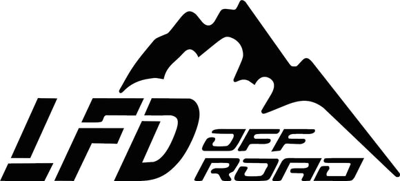 LFD Off Road Decal
