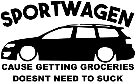 VW Sportwagen Decal