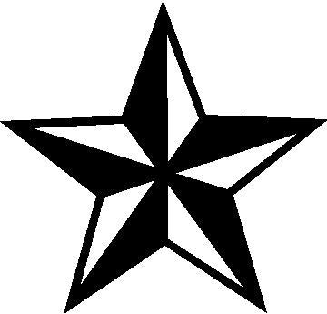 Nautical Star Decal
