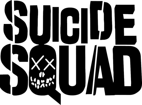 Suicide Squad Decal