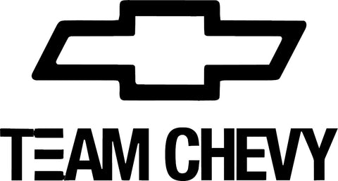 Team Chevy Decal