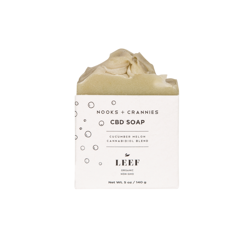 Nooks + Crannies - CBD Soap