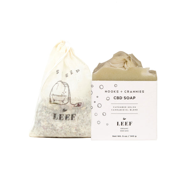 LEEF Organics BATH BUNDLE