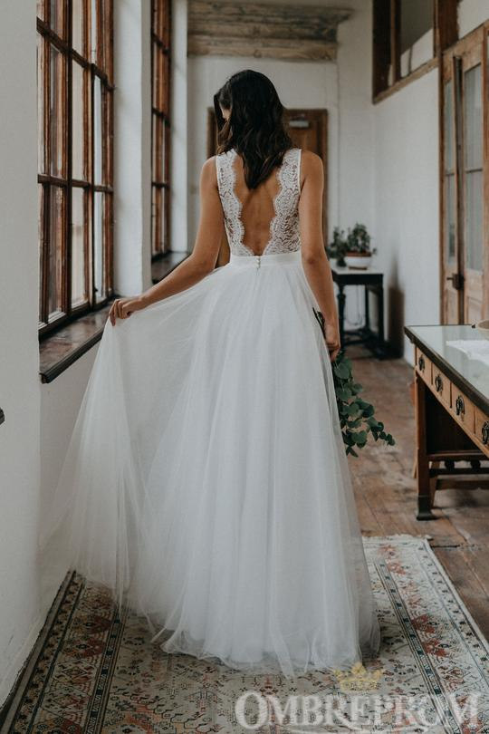 Breath-taking Backless Wedding Dresses