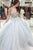 Floral Appliques Tulle Graduation Gown A-line V-neck Long Prom Dress D449