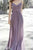 Impressive Chiffon Spaghetti Straps V Neck Sleeveless Bridesmaid Dress B393