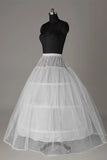 Tulle Netting Ball-Gown 2 Tier Floor Length Slip Style Wedding Petticoats P04