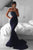 Sheath Brush Train Sweetheart Strapless Sleeveless Zipper Back Prom Dress,Party Dress