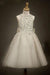 A Line Floor Length Scoop Neck Sleeveless Appliques Beading Flower Girl Dresses,Baby Dress F33